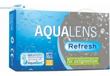 Aqualens Refresh For Astigmatism 3pk