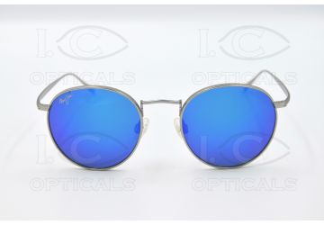 MAUI JIM B544-11B/BLUEHAWAIINAUTILUSTITANIUM/