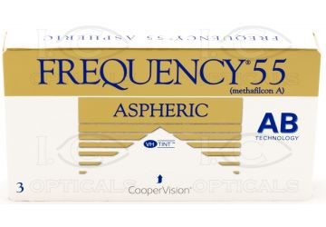 Frequency55 Aspheric 3 pack