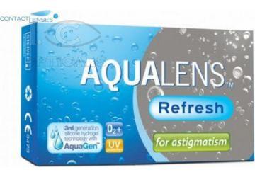 Aqualens Refresh For Astigmatism 3pk
