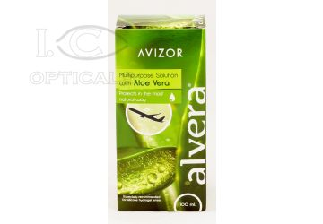 Υγρό φακών επαφής Alvera 100ml